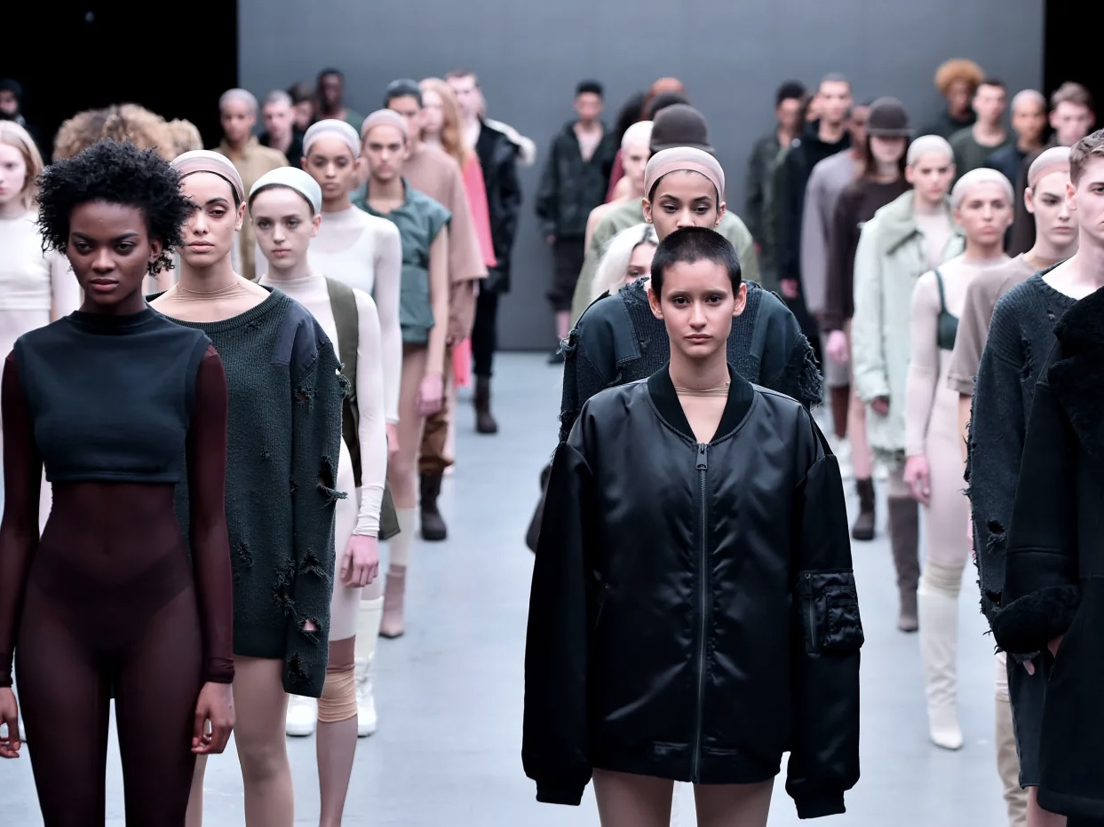 Kanye West Launches YEEZY SEASON 1 in Style